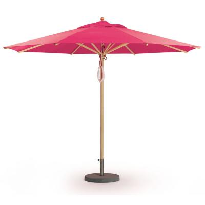 KLASSIKER Sonnenschirm pink