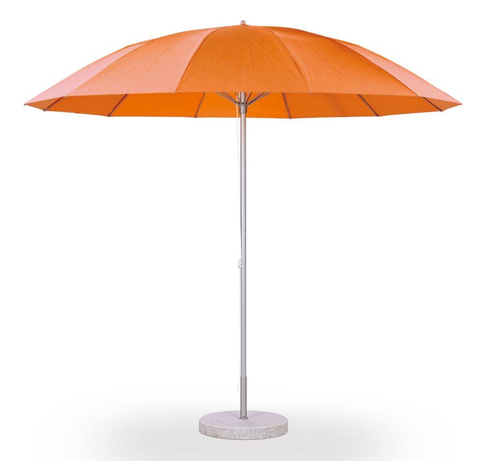 Pagodenschirm Sonnenschirm, orange