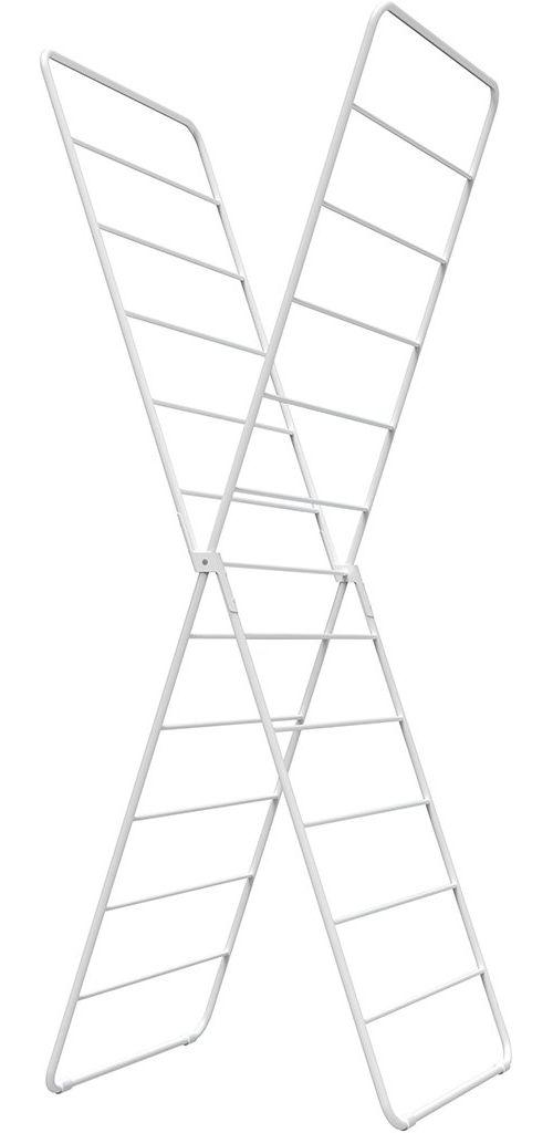 X-Dryer vertikaler Wäscheständer klappbar, weiß