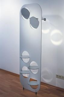 DISC-O Garderobe modular aus Alucubon