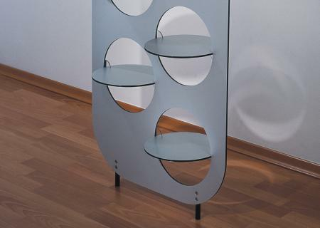 DISC-O Garderobe modular Detail unten