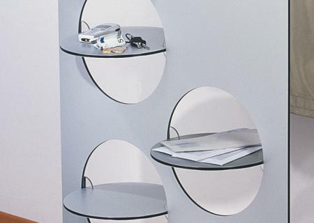 DISC-O Garderobe modular Dekorationsbeispiel