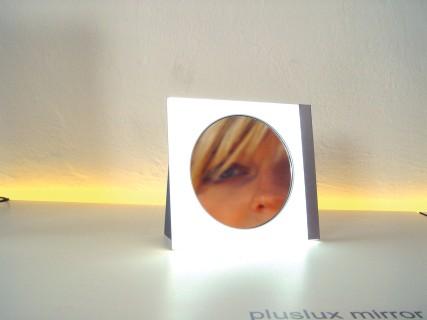 PLUSLUX Spiegel mit LED-Hintergrundbeleuchtung