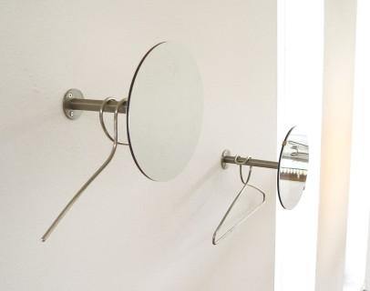 DISC Einzelgarderobe modular mit und ohne Spiegel