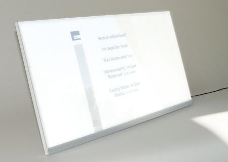 PLUSLUX beleuchteter LED Bilderrahmen