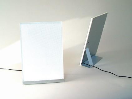 pluslux beleuchteter led bilderrahmen von xxd bei. Black Bedroom Furniture Sets. Home Design Ideas