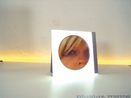 PLUSLUX beleuchteter LED Spiegel