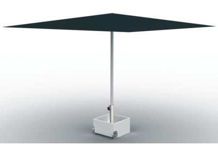 FLOWERPOWER Sonnenschirmständer mit Schirm